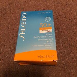 Shiseido sunscreen spf 50